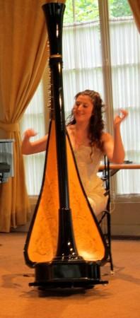 Ophélia Grimm, Harpiste