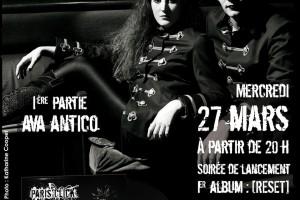 27 mars au Réservoir (Paris 11ème)